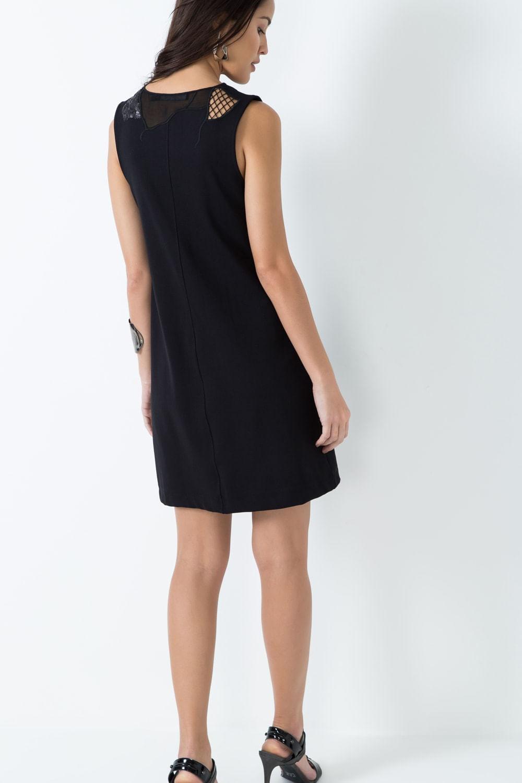 Vestido malha richilie bordado 01022716 sacada zoom fandeluxe Gallery